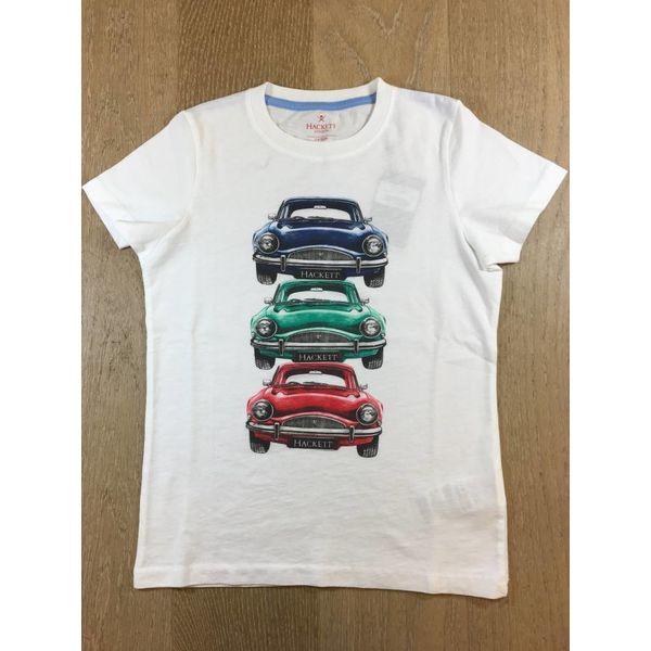 HACKETT HK500465 Car stack tee Y