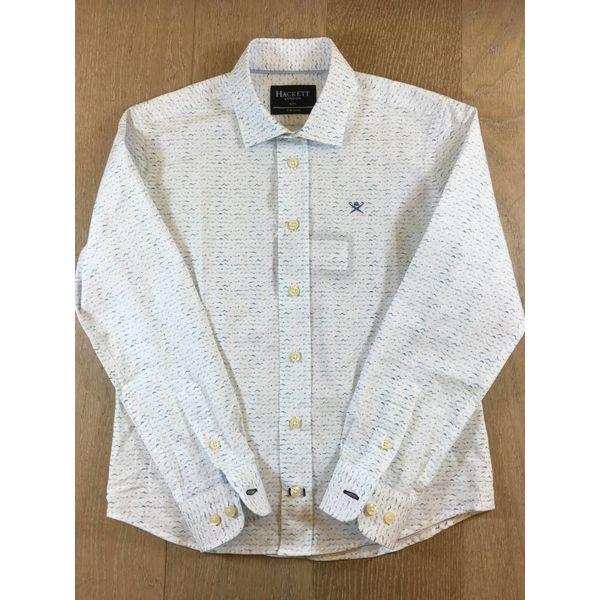HACKETT HK301266 Wave print shirt Y
