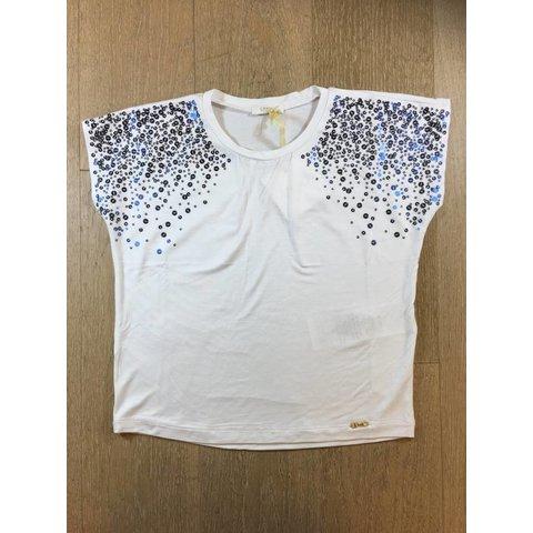 G18022j0004 t shirt m/c paillettes