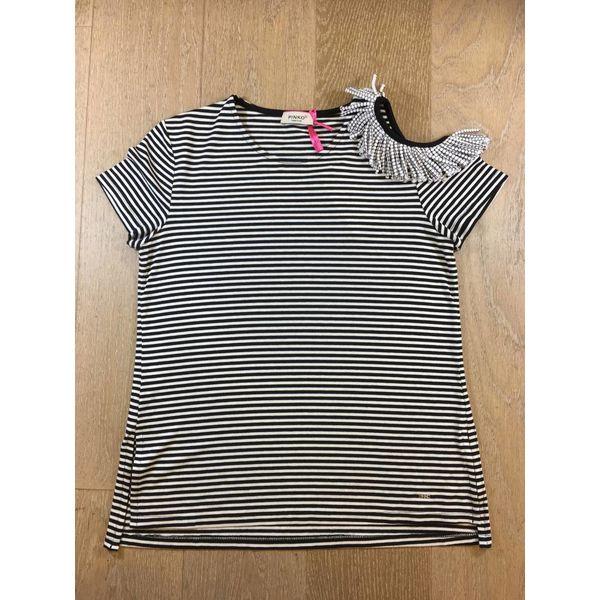 Pinko 1A1103-Y48T marguerite maxi t-shirt