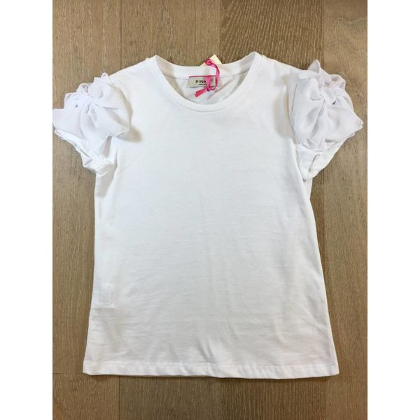 Pinko 1A10ZB-Y47U fifi t-shirt jersey/georgette