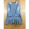 KG03192 denim dress l/s