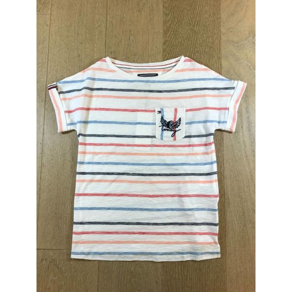 Tommy Hilfiger girls KG03385 amiable bn knit s/s