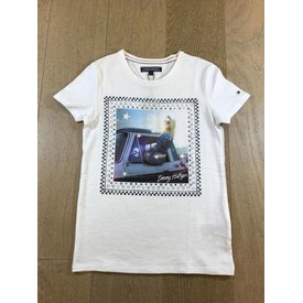 Tommy Hilfiger girls KG03429 animated tee s/s