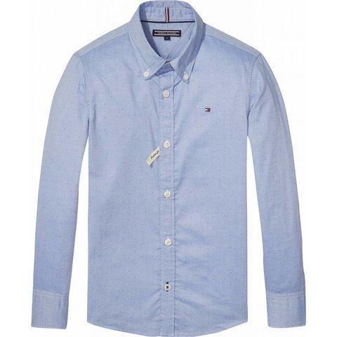 KB03659 hemd ame blue shirt l/s