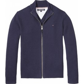 Tommy hilfiger pre KB03666 pull ame structure zip cardigan l/s
