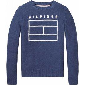 Tommy hilfiger pre KB03668 sweater ame logo cn sweater l/s