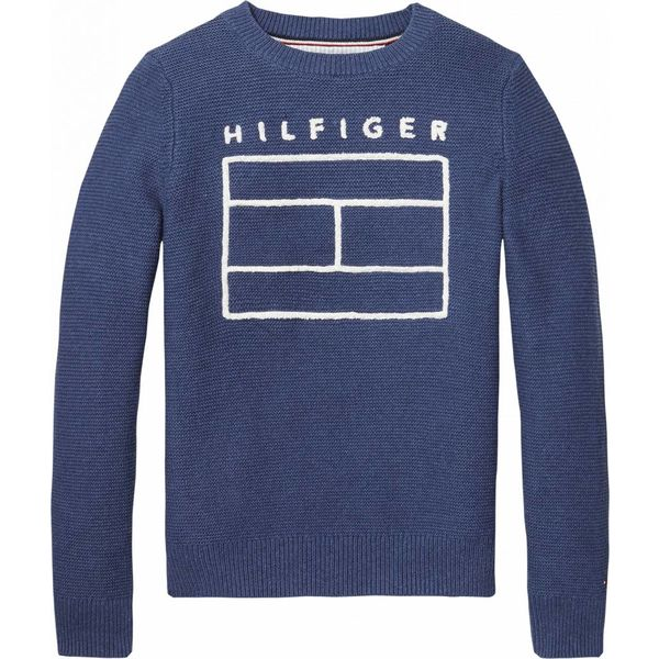 Tommy hilfiger pre KB03668 sweater ame logo cn sweater l/s