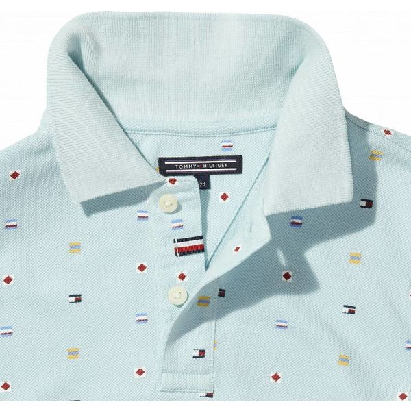 Tommy Hilfiger KB03860 bright aop flag polo s/s