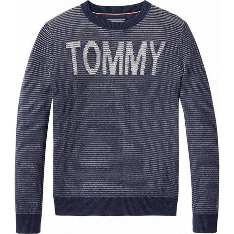 KB03896 tommy stripe cn sweater