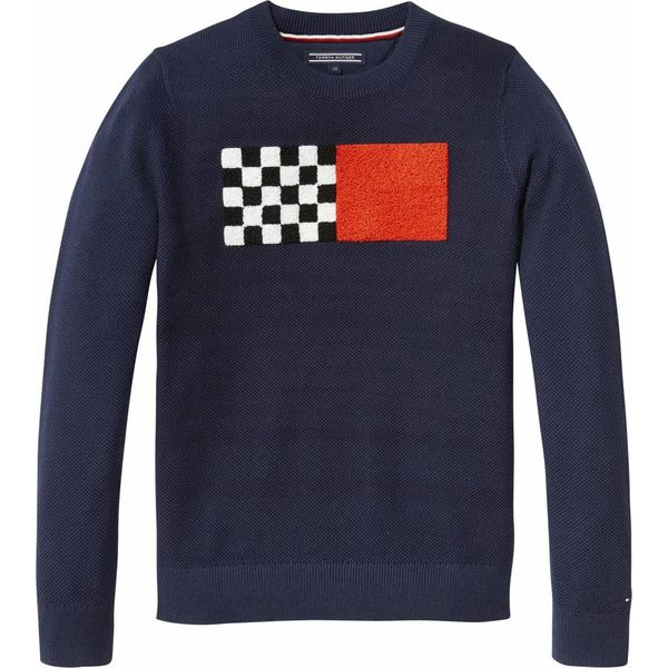 Tommy Hilfiger KB03899 ame fun towelling cn sweater
