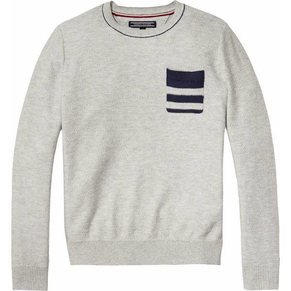 Tommy Hilfiger KB03904 herringbone pocket cn sweater