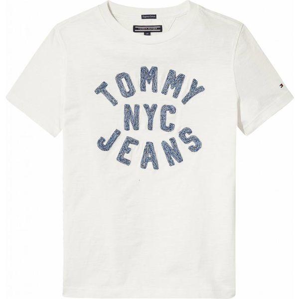 Tommy Hilfiger KB03907 d texture chainstitch tee s/s