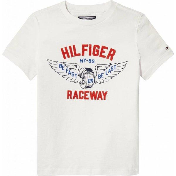 Tommy Hilfiger KB03915 raceway applique tee s/s