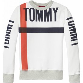 Tommy Hilfiger KB03962 bold text crew neck
