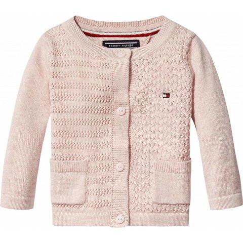 KN00794 sweet texture baby girl cardigan
