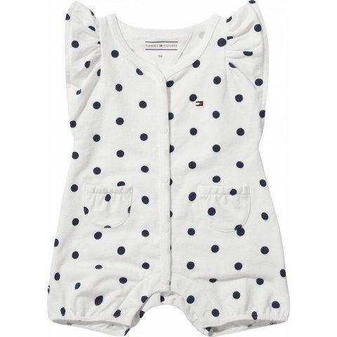 KN00806 sweet dot baby girl shortall