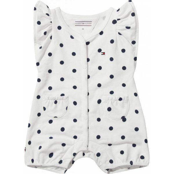 Tommy hilfiger newborn KN00806 sweet dot baby girl shortall