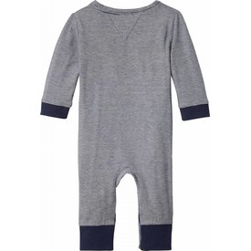 Tommy hilfiger newborn KN00862 stripe jersey baby coverall