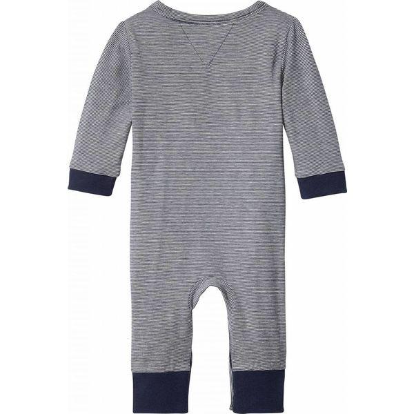 Tommy hilfiger newborn KN00862 stripe jersey baby coverall