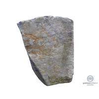 thumb-Grijze natuurlijke gruwe grafsteen-2