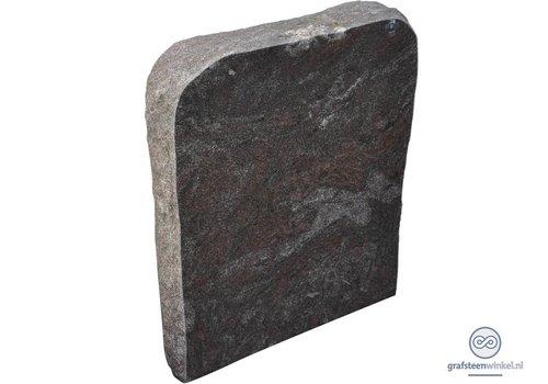 Grijze grafsteen