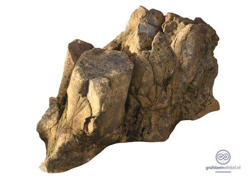 Natuurlijk gevormde grafsteen