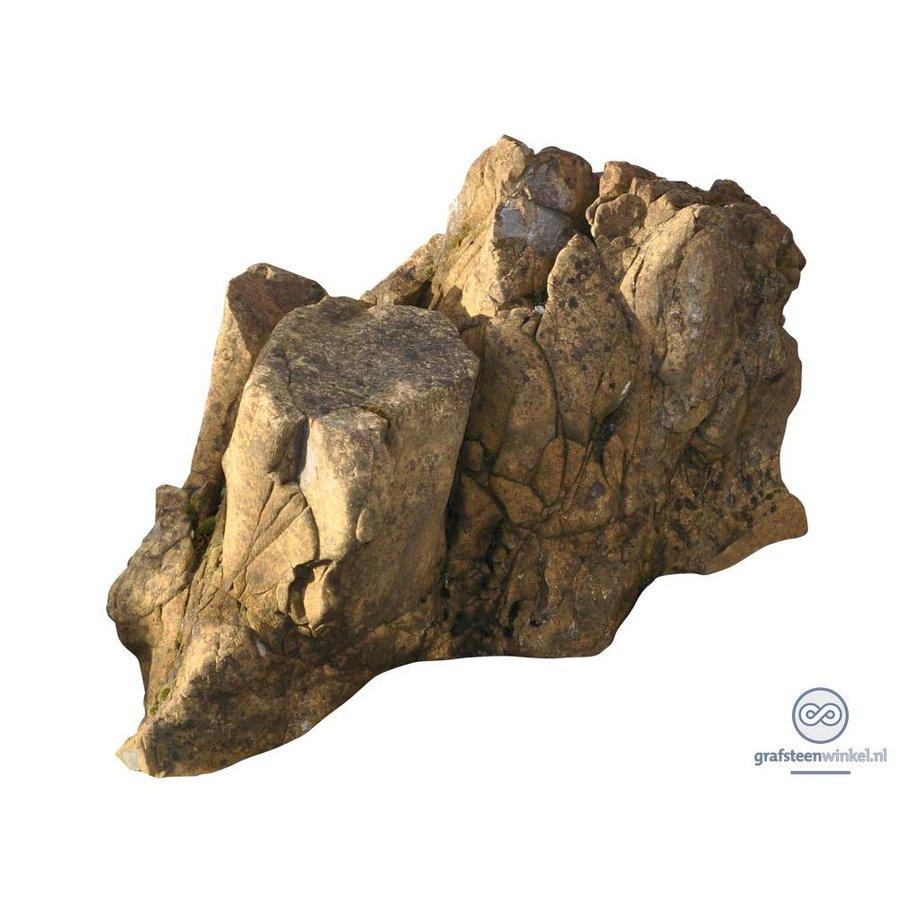 Natuurlijk gevormde grafsteen-1