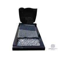 thumb-Zwarte grasteen met speelse rondingen aan bovenzijde en grijze afdekplaat-2