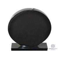thumb-Zwarte cirkelvormige grafsteen-2