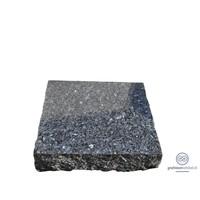 thumb-Zwarte ruw gehakte grafsteen-1