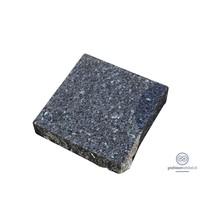 thumb-Zwarte ruw gehakte grafsteen-2