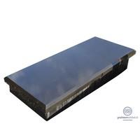 thumb-Zwarte granieten afdekplaat op verhoging-2