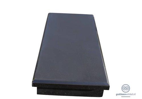 Zwarte granieten afdekplaat