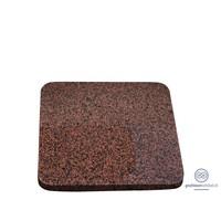 thumb-Roodachtige vierkante grafsteen met afgeronde hoeken-2