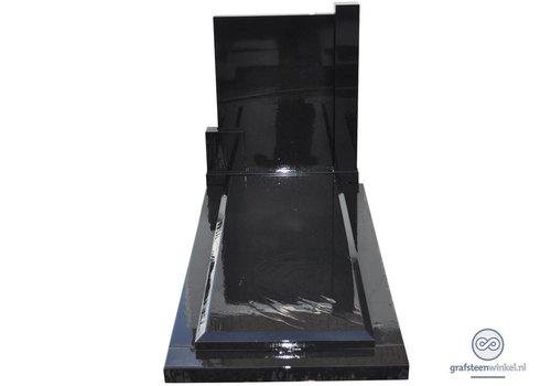 Zwarte grafsteen