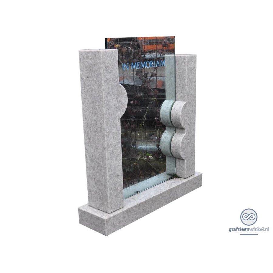 Natuursteen met glas-2