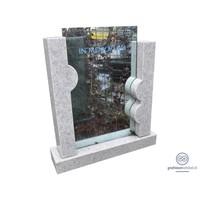 thumb-Natuursteen met glas-1