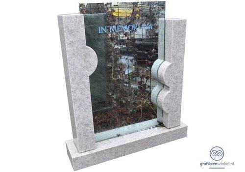 Natuursteen met glas