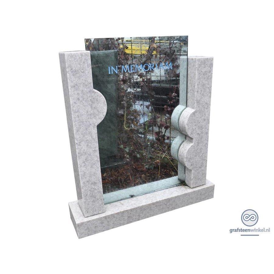 Natuursteen met glas-1