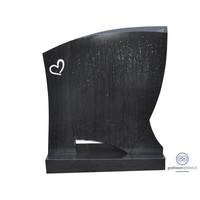 Gestroomlijnde grafsteen