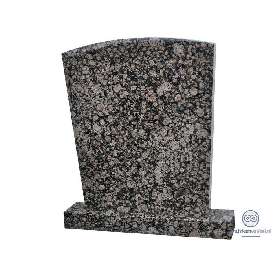 Grijze traditionele grafsteen-1
