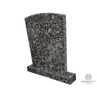 thumb-Grijze traditionele grafsteen-2