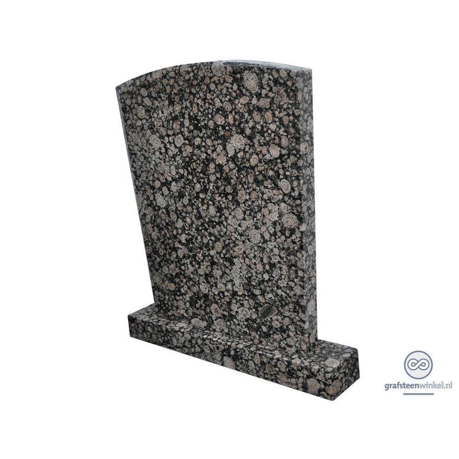 Grijze traditionele grafsteen-2