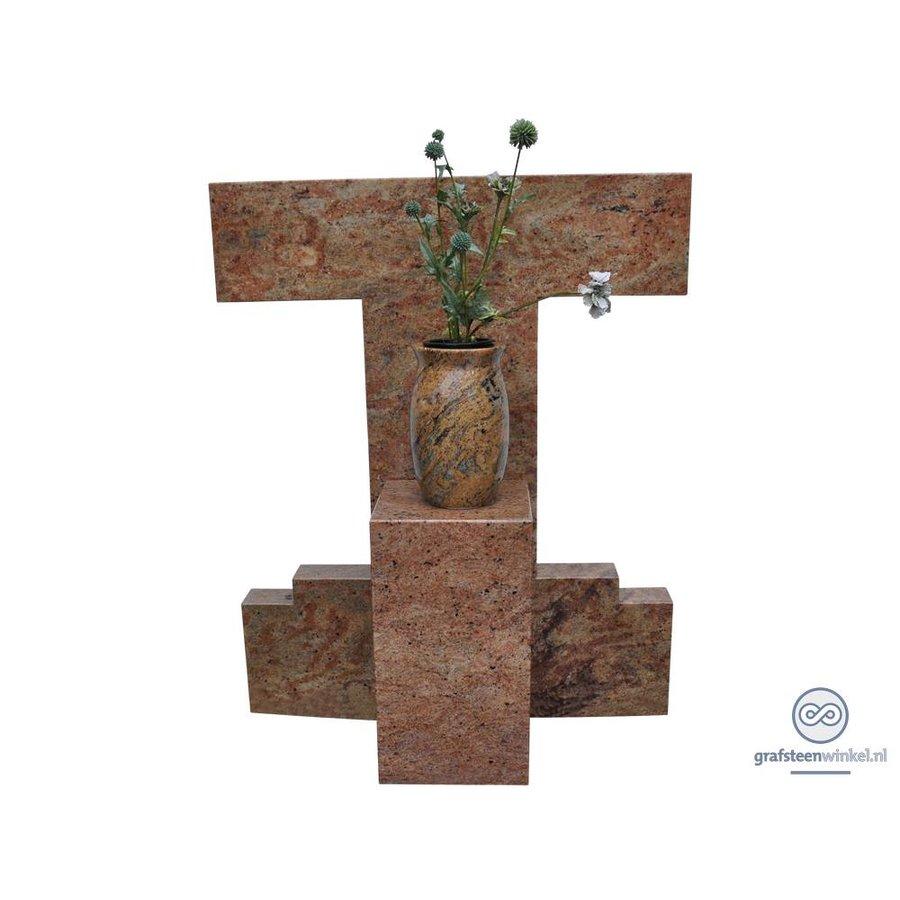 Trapezium model grafsteen-2