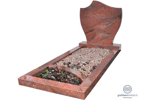 Grafsteen, model Tulp