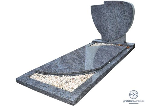 Traditioneel grafmonument