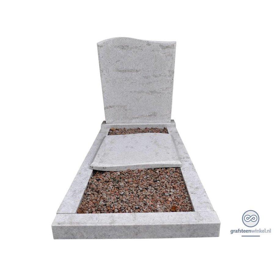 Golfmodel grafsteen