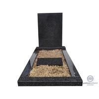thumb-Eenvoudige grafsteen met omranding-2