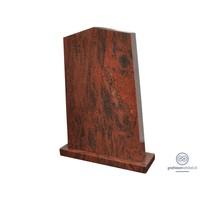 thumb-Rode staande grafsteen-2